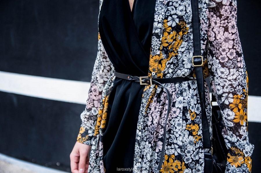 7b9e0d63d3b Pimp Ma Petite Robe Noire - Kimono Style ! • LaRoxStyle