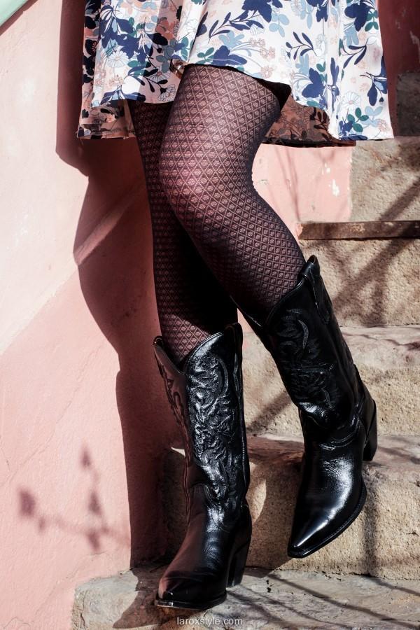 laroxstyle blog mode lyon - robe petite française en santiags (20 sur 21)