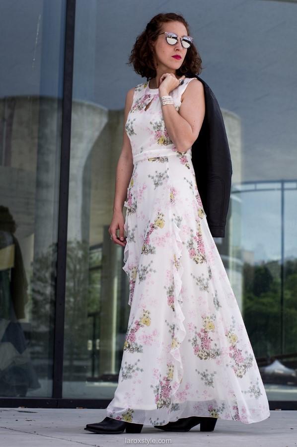 Romantic & Rock Look | Robe longue réservée aux grandes ?