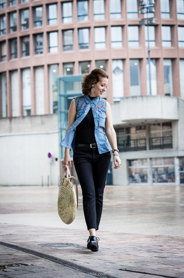 Chic en Broderies - look - blog mode - laroxstyle