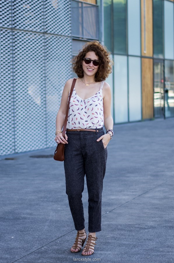 Summer Working Girl - laroxstyle - blog mode lyon