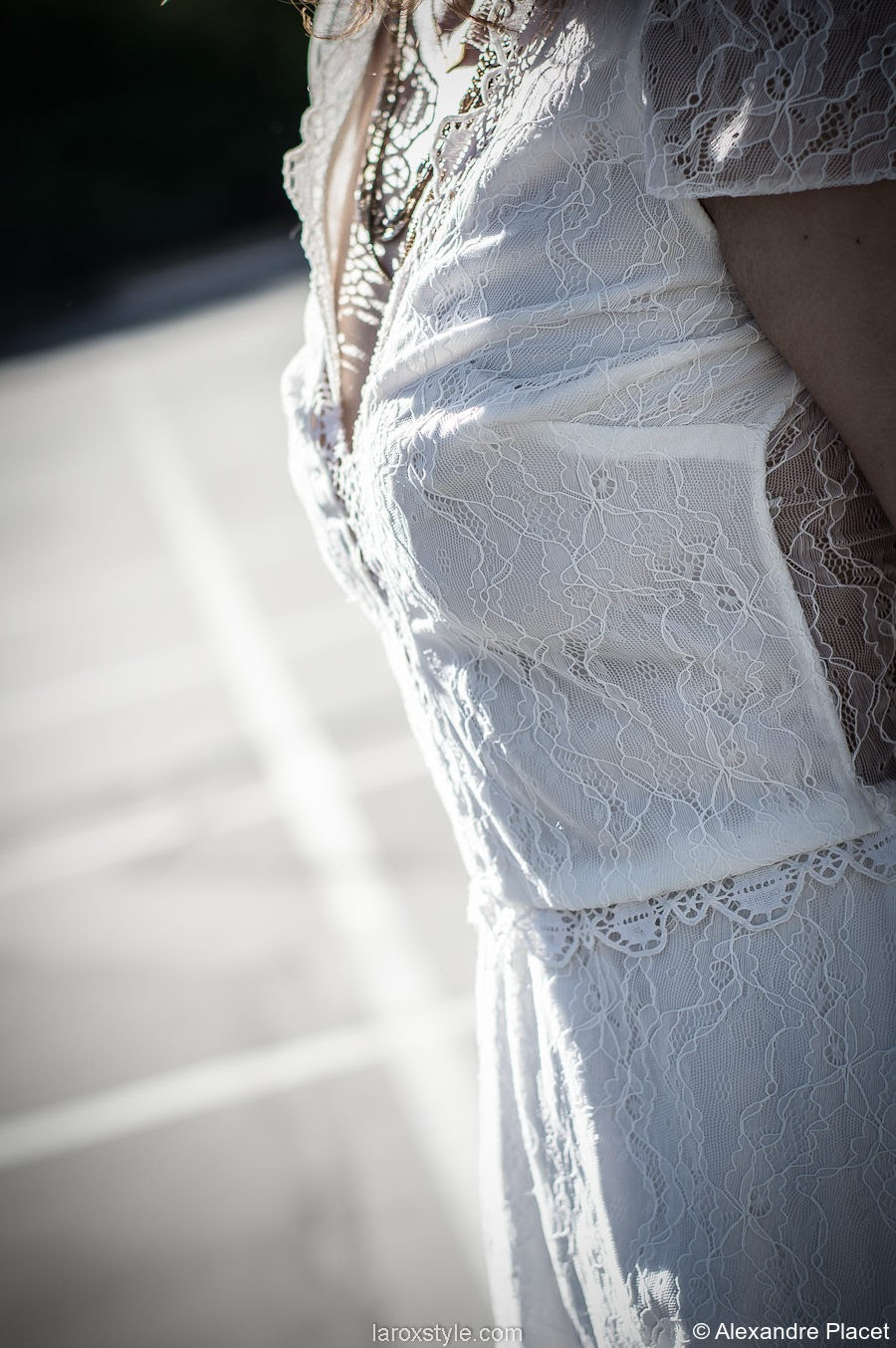 Laroxstyle - blog mode lyon - look robe mariage - caroline quesnel - IMGP6937