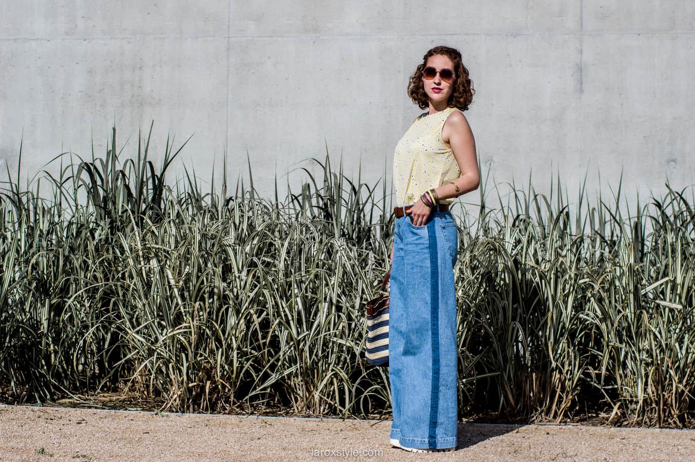 laroxstyle - blog mode lyon - look 70s - pantalon patte d elephant (14 sur 44)