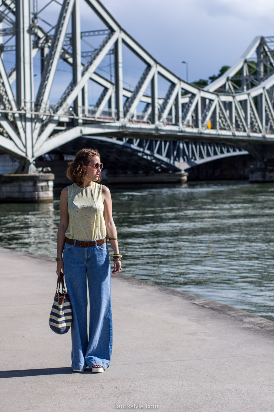 laroxstyle - blog mode lyon - look 70s - pantalon patte d elephant (2 sur 44)