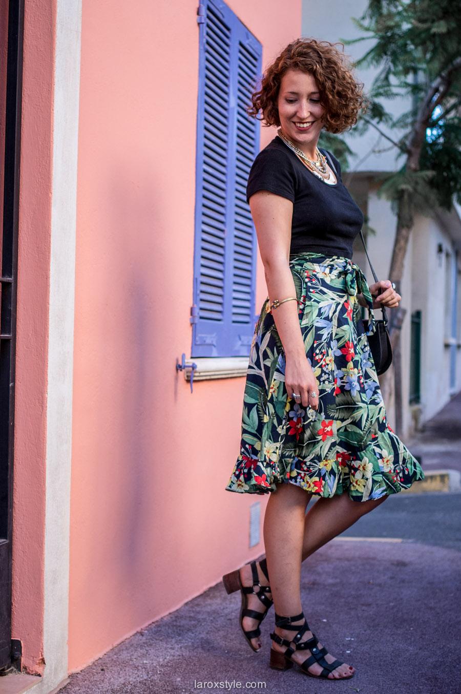Mode Femme - jupe taille haute