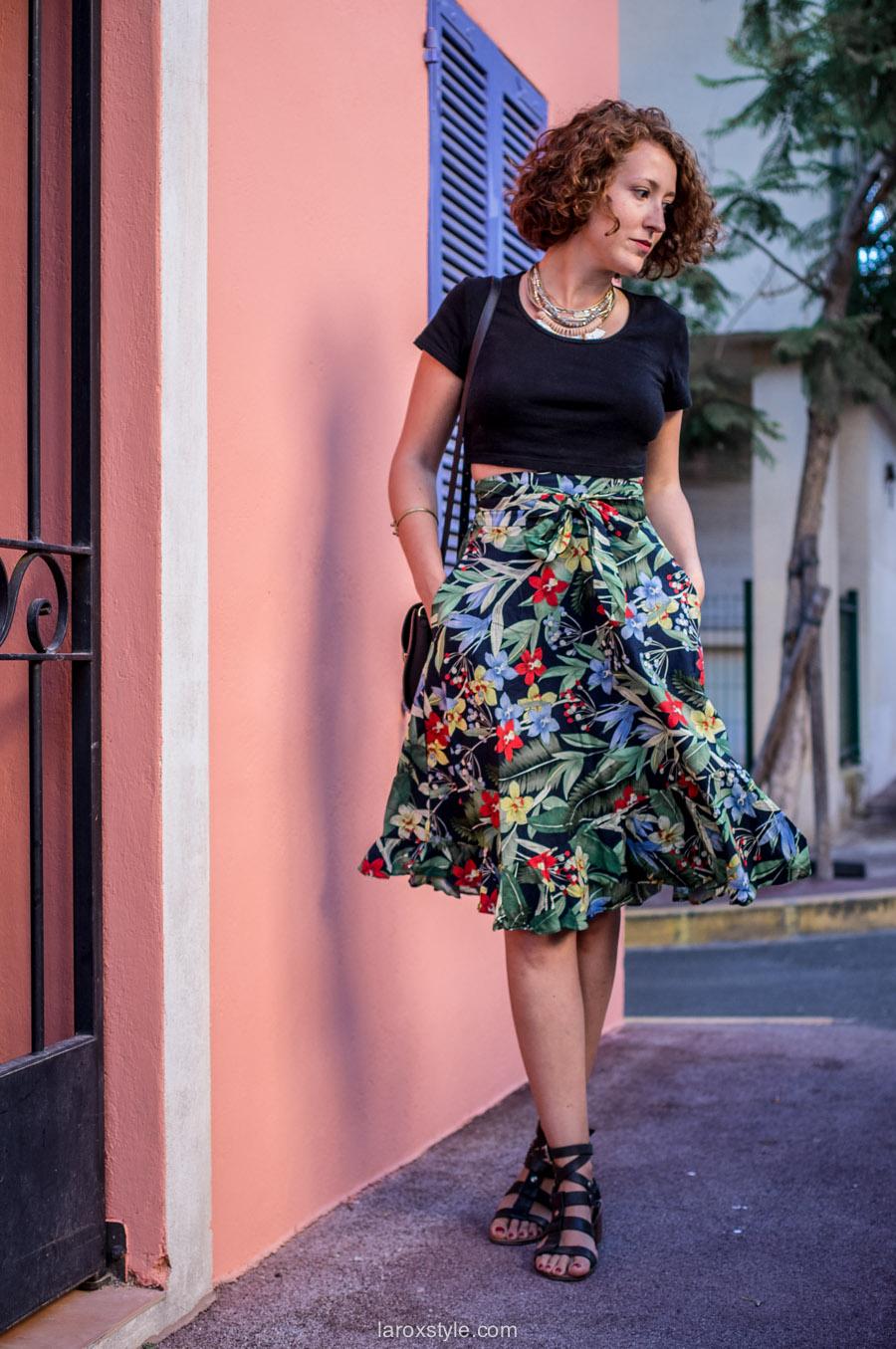 Mode Femme - tendance jupe haute