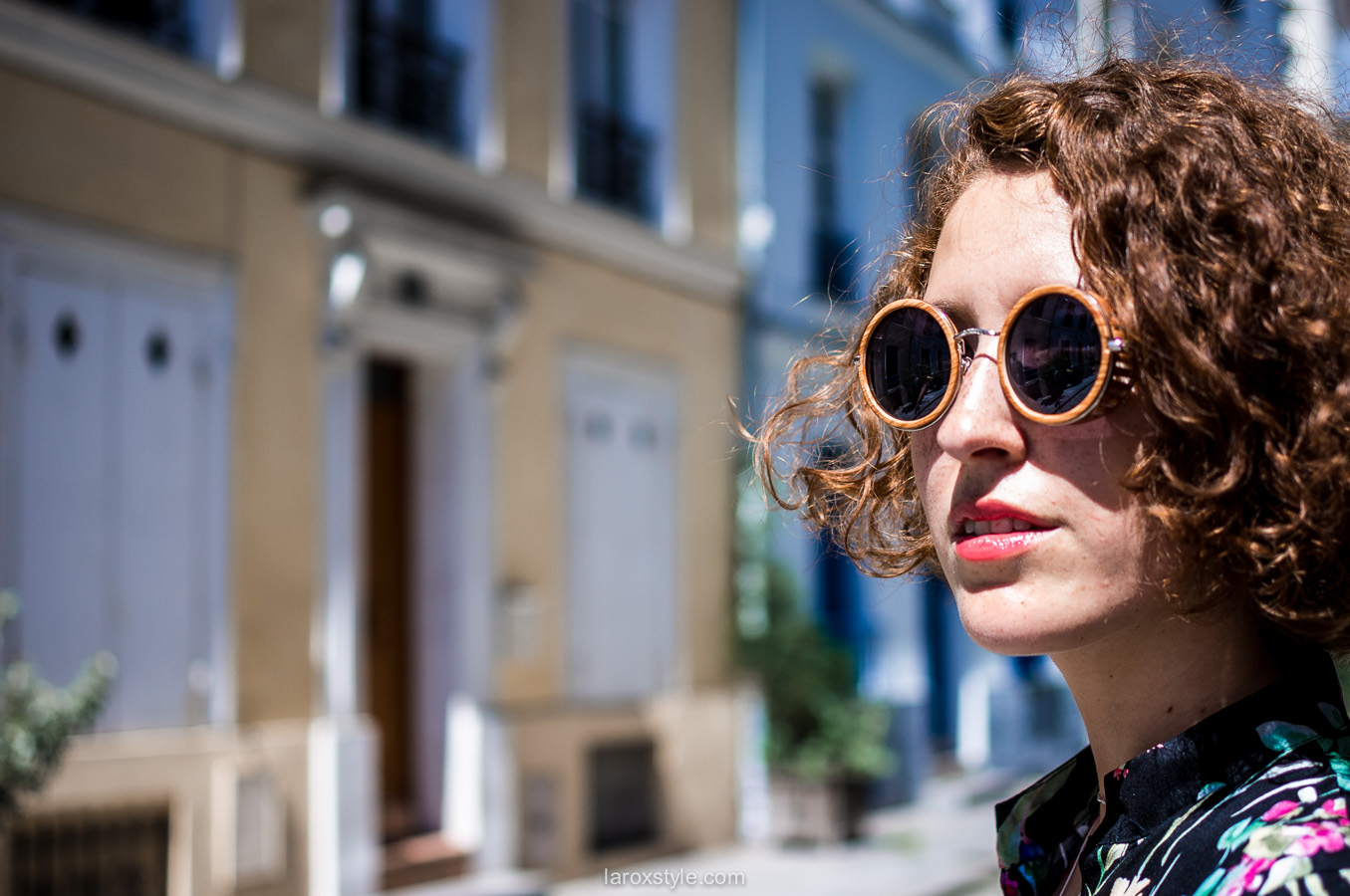 Paris - rue cremieux - robe longue fleurie - laroxstyle - blog mode lyon-45