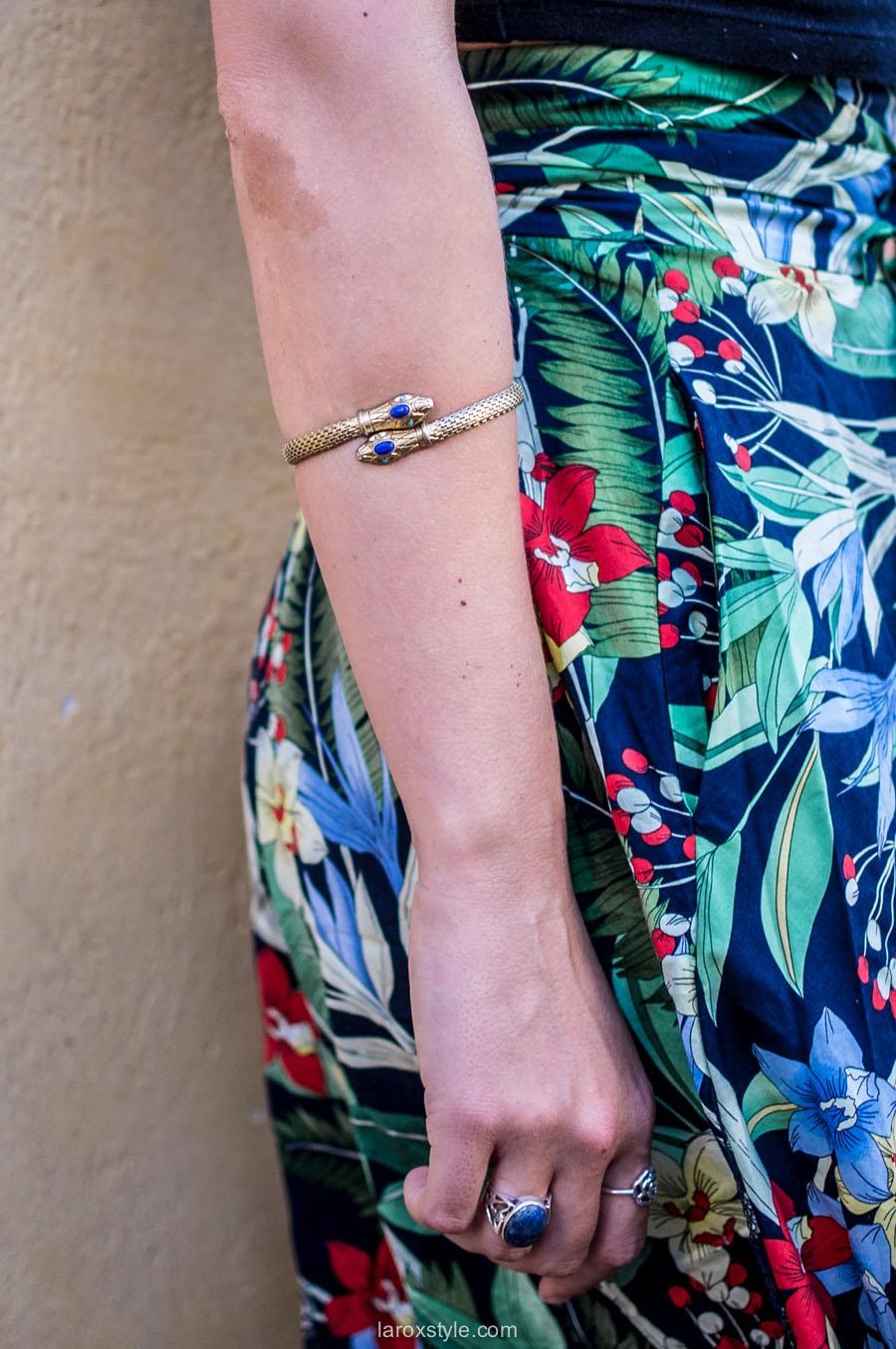 bracelet de bras - bracelet serpent