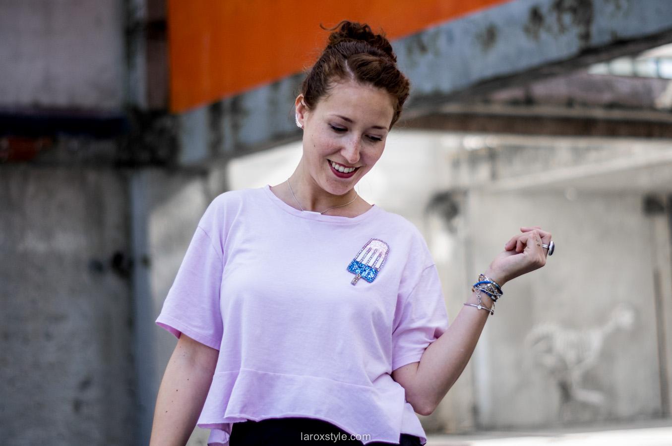 jupe crayon - look - blog mode