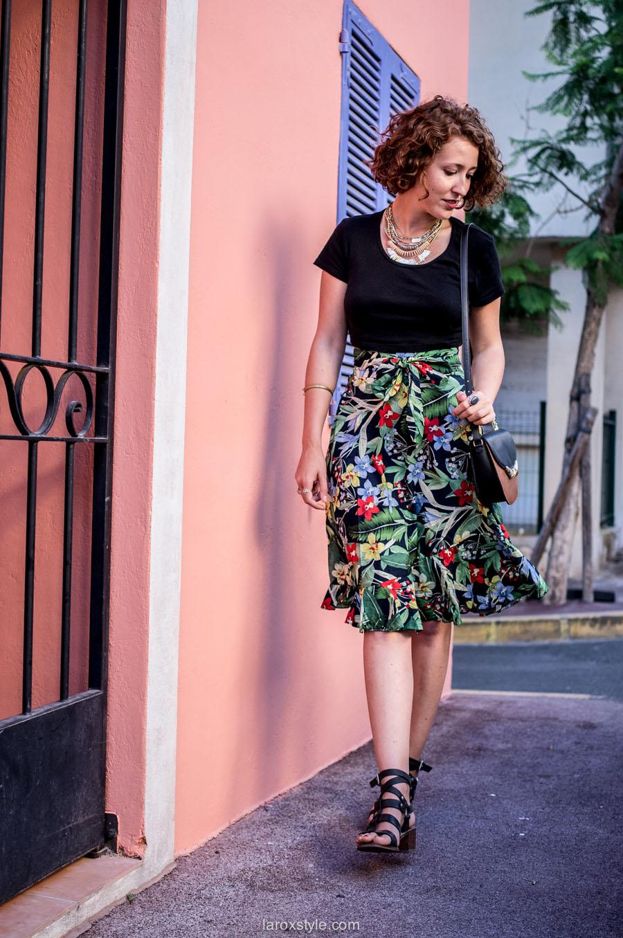 look femme - Tendance palmiers - blog mode lyon