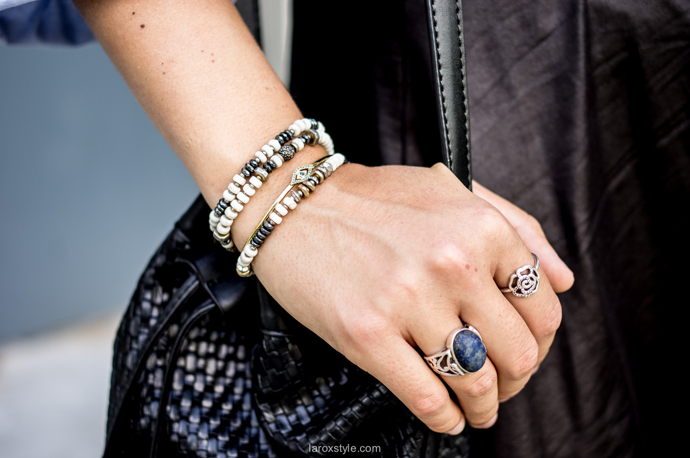 bijoux - arm party - stella and dot - blog mode