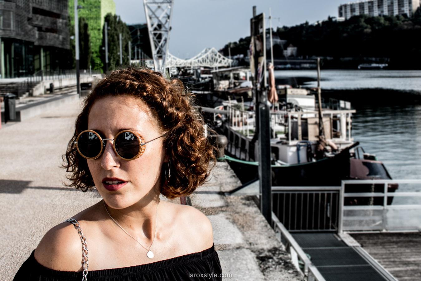 blog mode lyon - lunettes rondes - laroxstyle