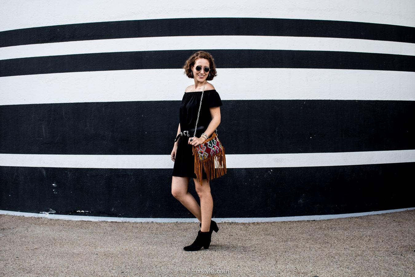 look boheme chic - sac a franges - blog mode lyon