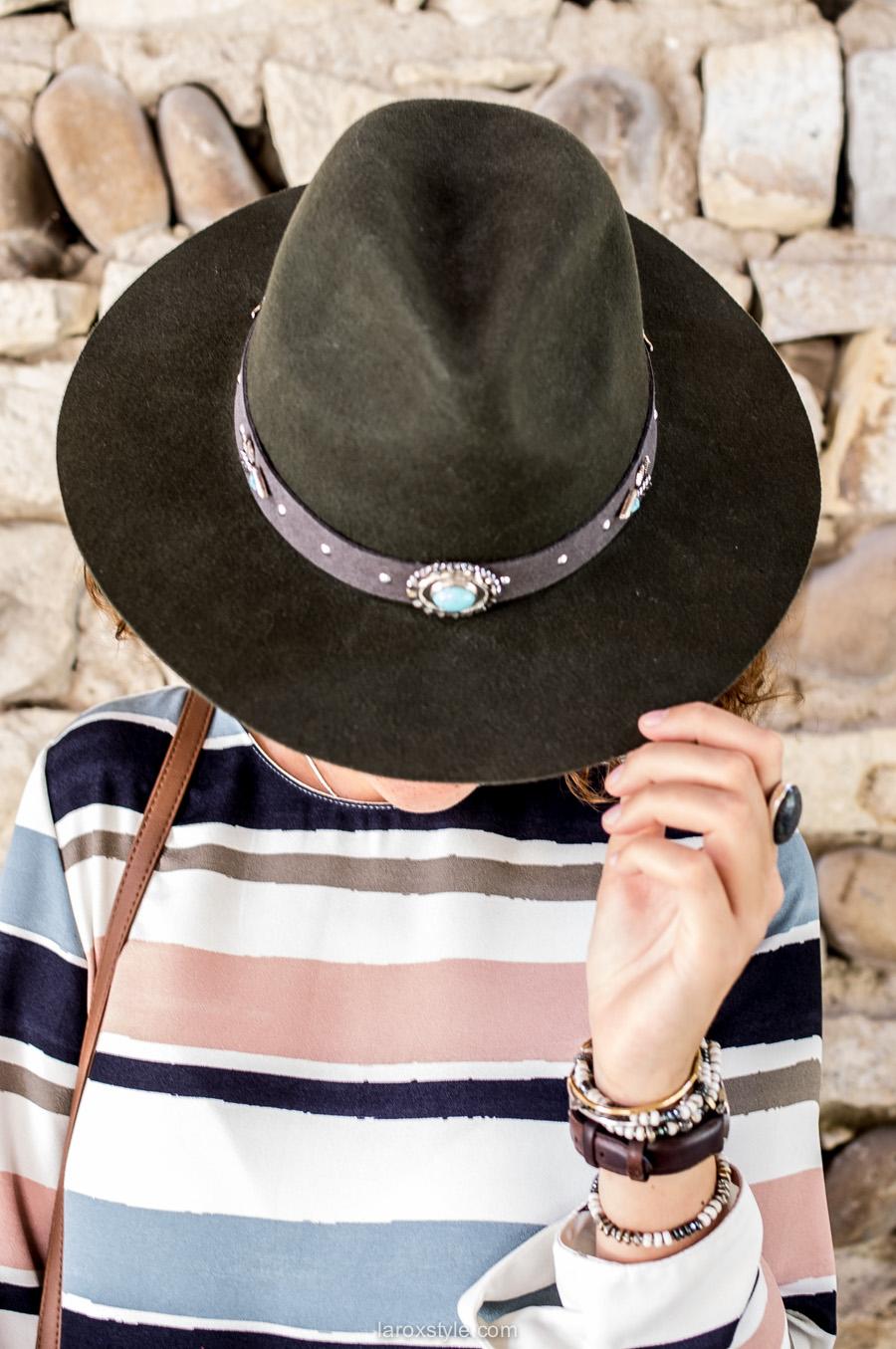 ranger hat amenapih - chapeau cow boy amenapih - blog mode lyon