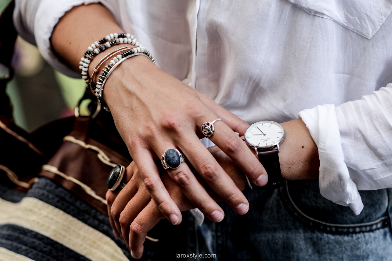 bracelets stella and dot - laroxstyle - blog mode lyon