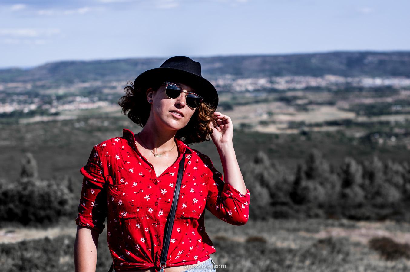 porter le chapeau - blog mode lyon - laroxstyle