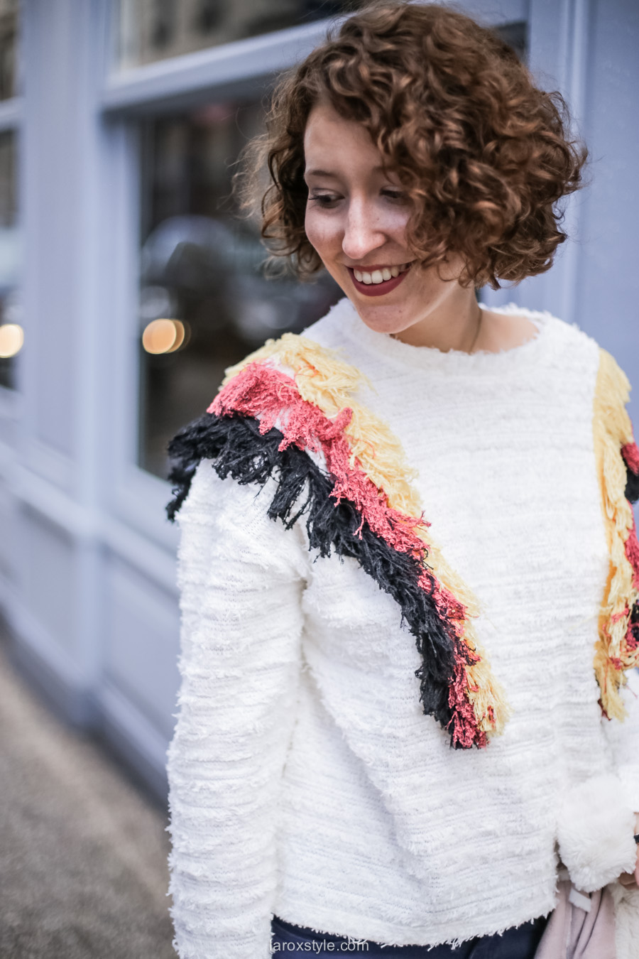 inspiration look - street style inspiration - manteau rose - laroxstyle blog mode lyon-16