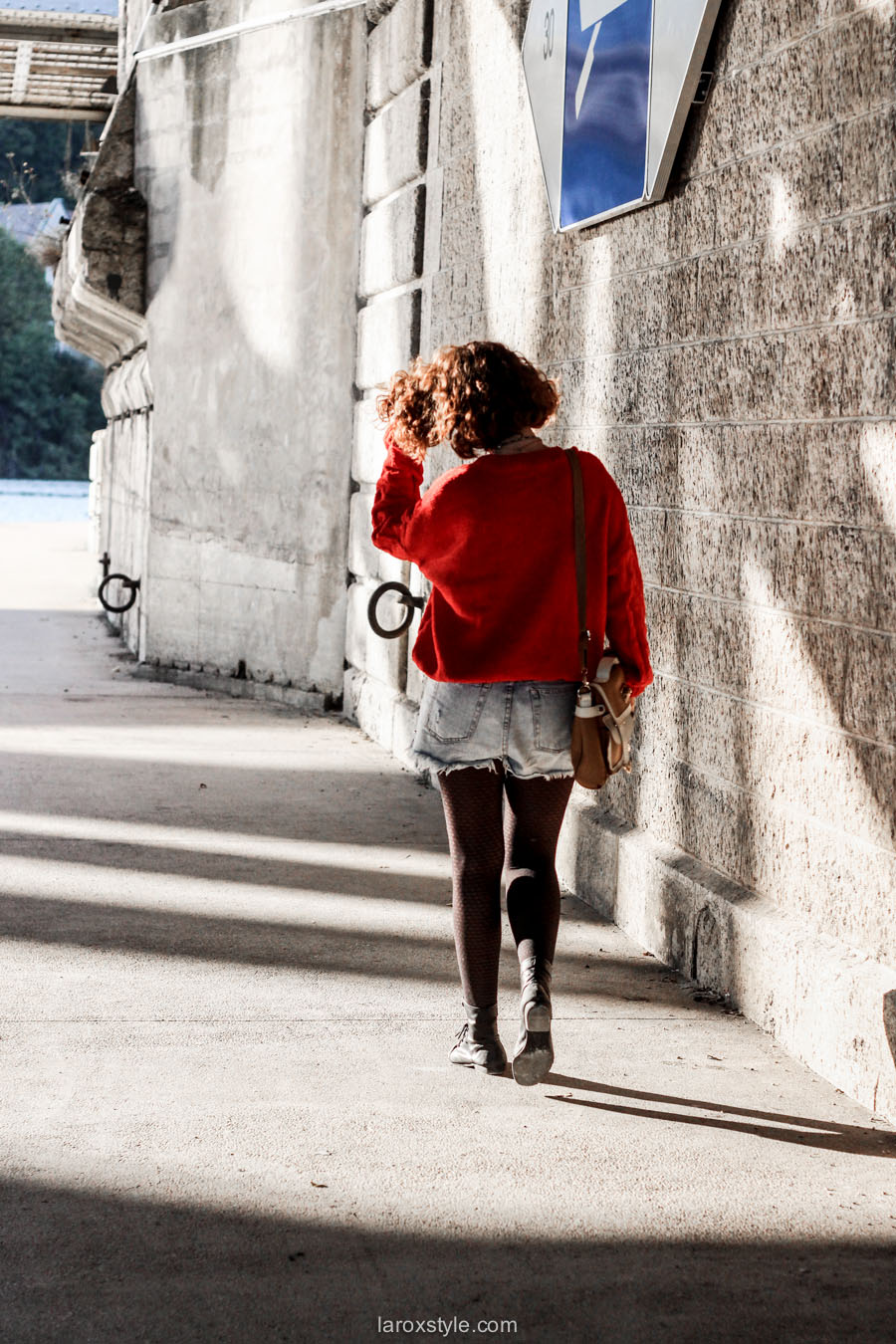 look ete indien - tendance mode rouge - laroxstyle blog mode -1