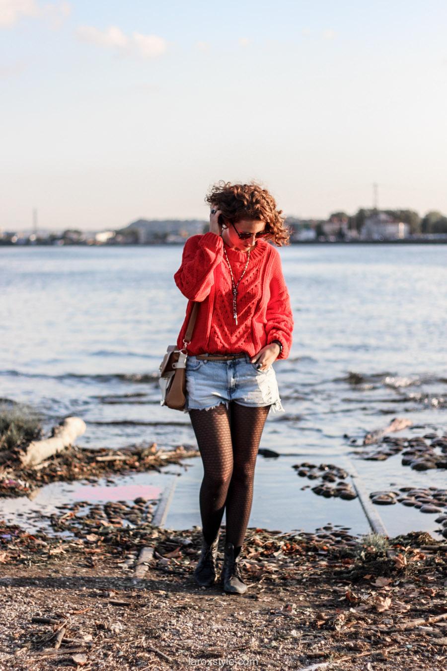 look ete indien - tendance mode rouge - laroxstyle blog mode -10