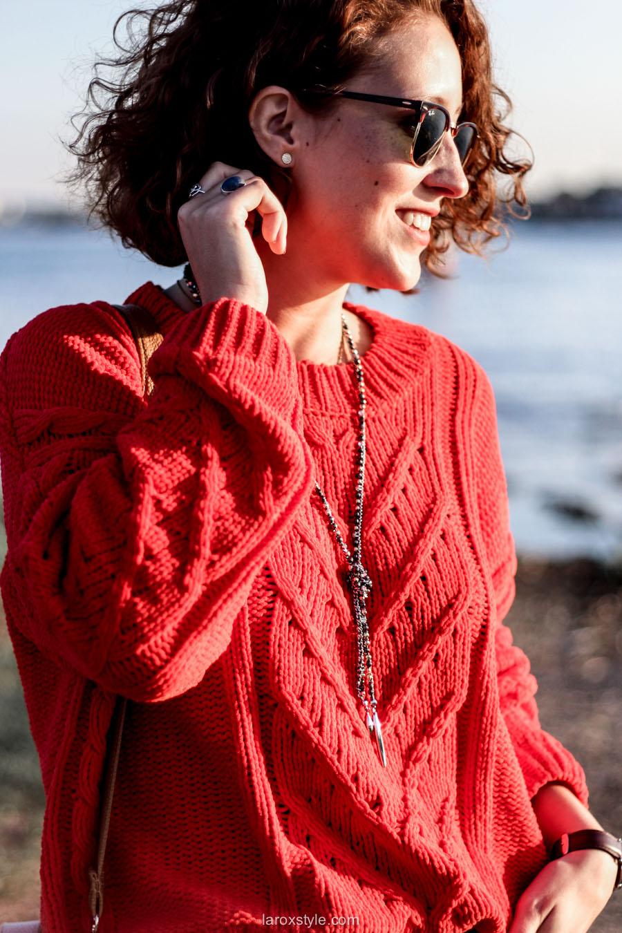 look ete indien - tendance mode rouge - laroxstyle blog mode -13