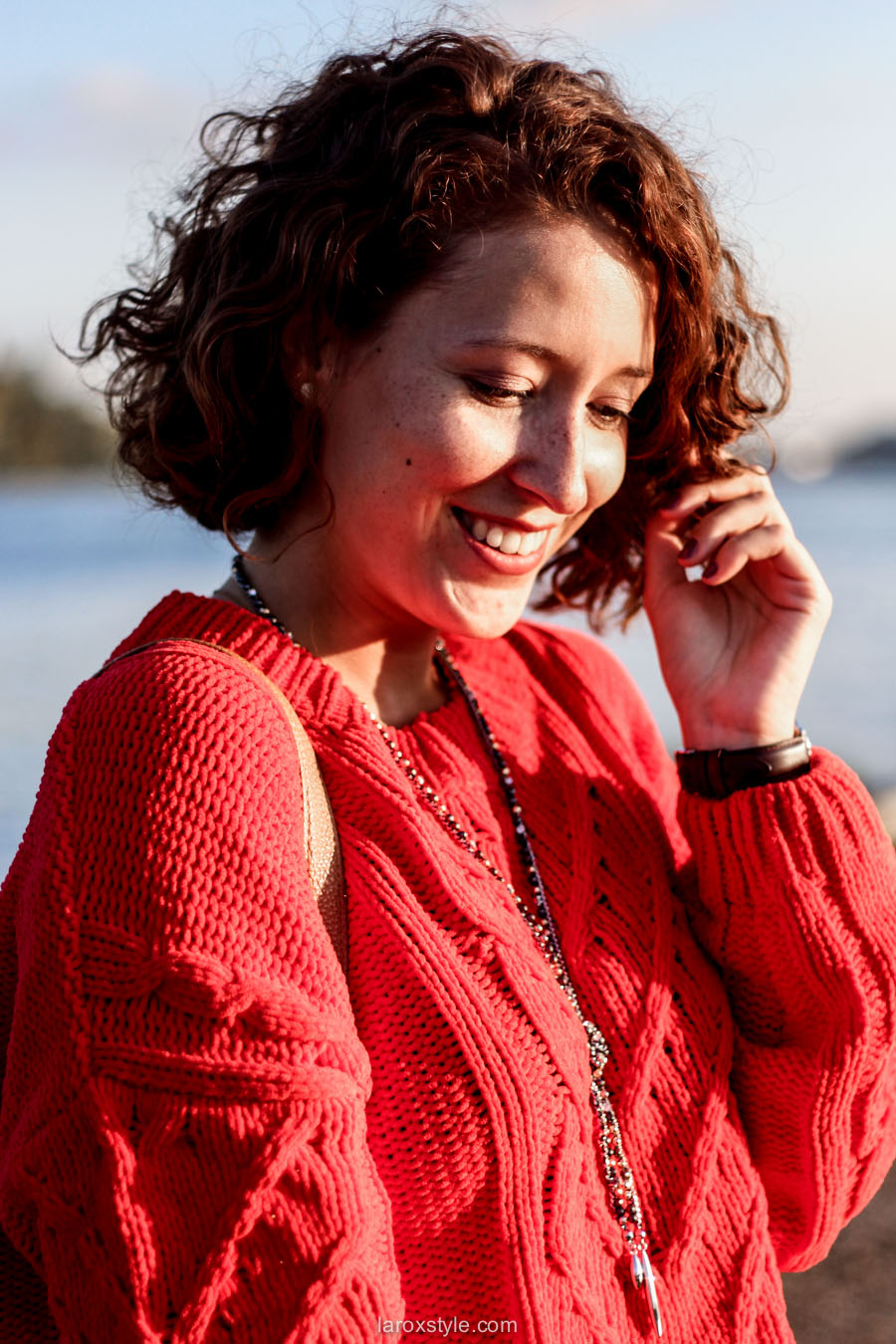 look ete indien - tendance mode rouge - laroxstyle blog mode -15