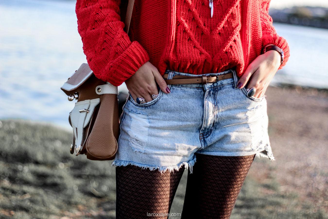 look ete indien - tendance mode rouge - laroxstyle blog mode -17