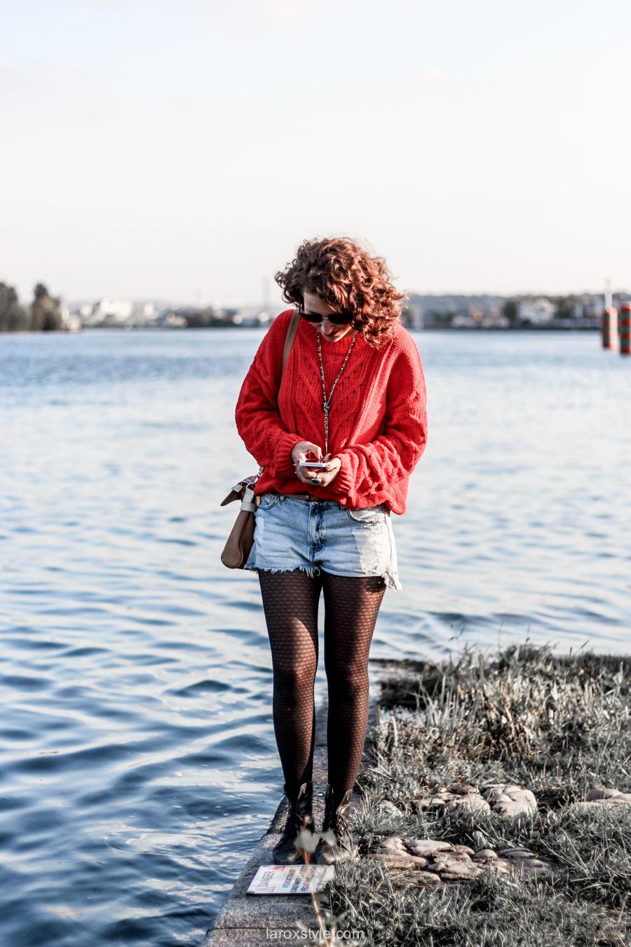look ete indien - tendance mode rouge - laroxstyle blog mode -19