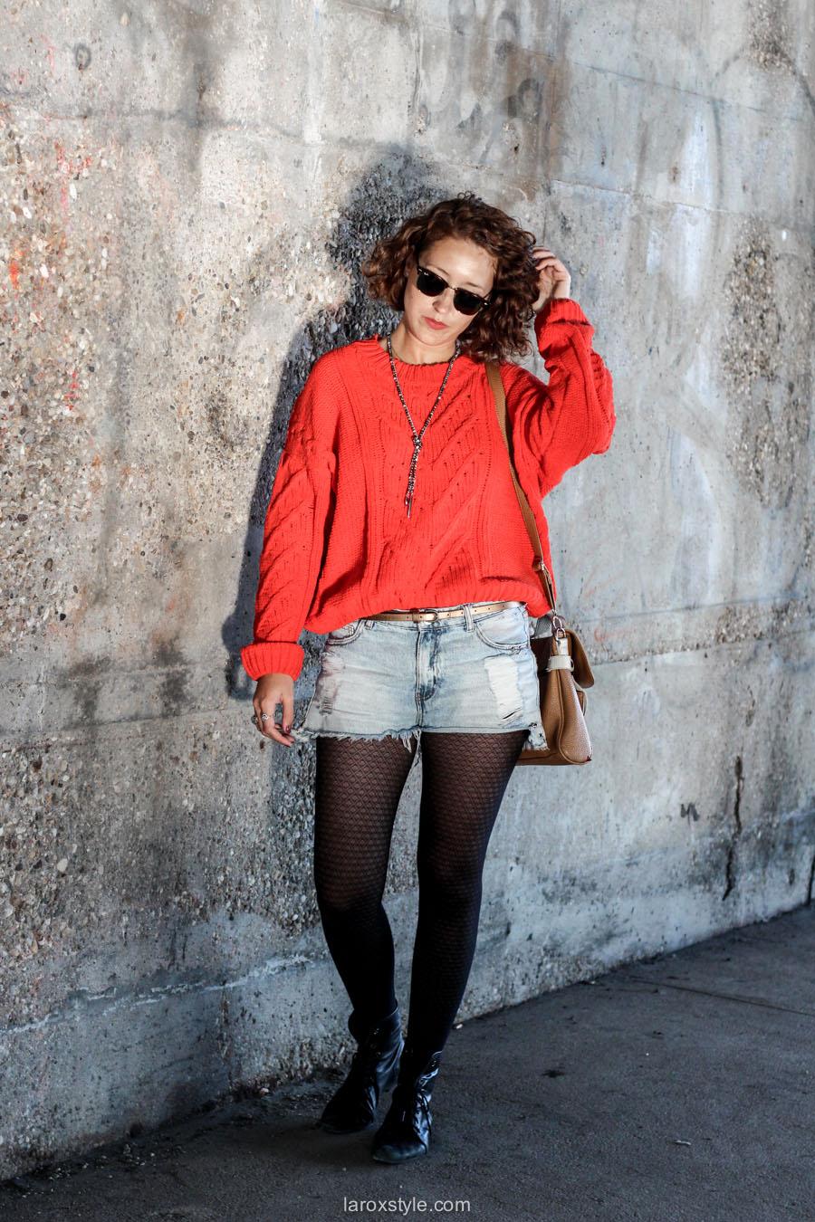 look ete indien - tendance mode rouge - laroxstyle blog mode -5