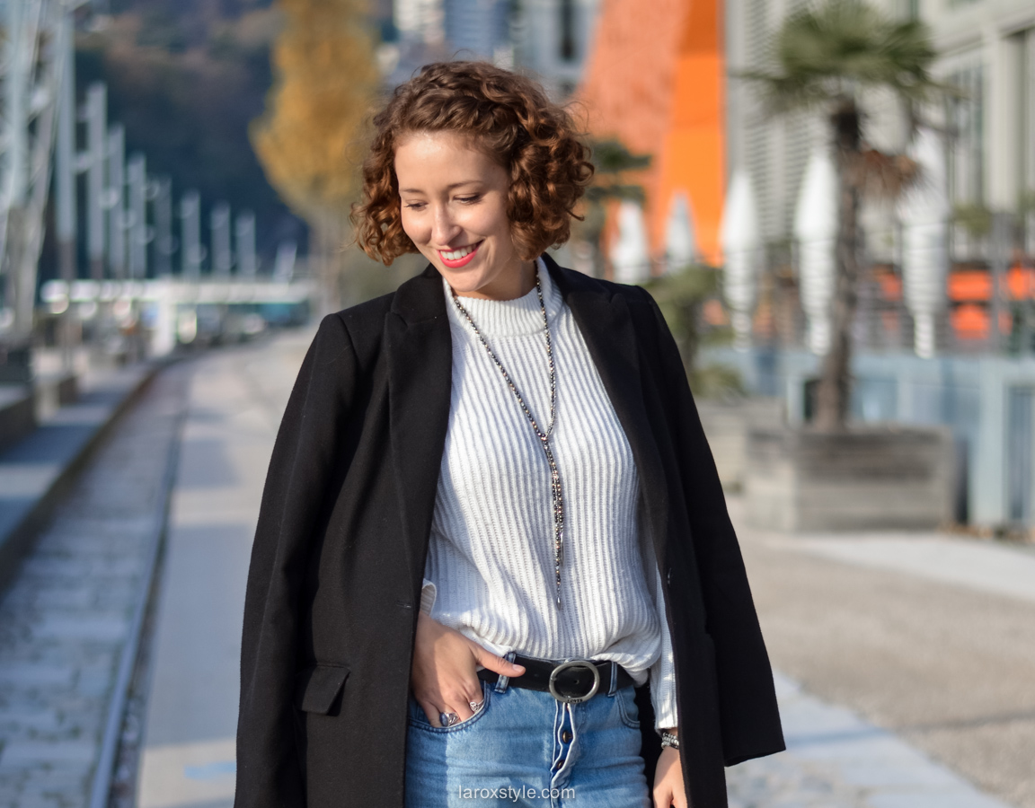 look casual rock - tendance red shoes - mom jean - blog mode lyon-7