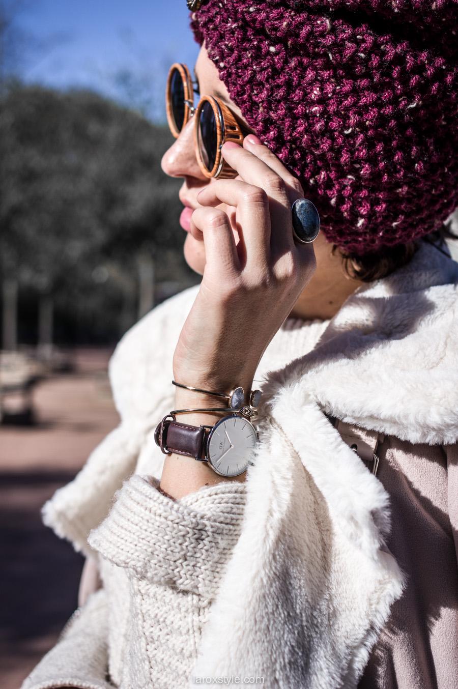 retro look - turban cheveux - pantalon pied de poule - laroxstyle blog mode lyon-14