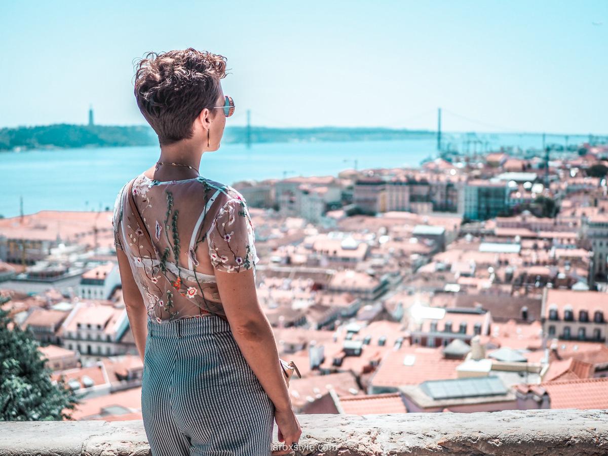 5 lieux a ne pas manquer a Lisbonne - castelo sao jorge - blog lyon